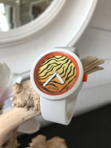 O Clock - Bianco White Wit Strap - O Clock Safari Flash Tiger