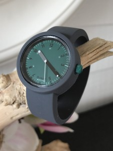 O Clock  - Dark Grey Grigio Scuro Strap - O Clock 60sec Green/Black