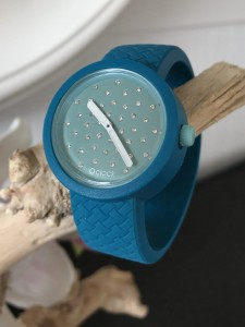 O Clock -  WICKER - Ottanio Strap - O Clock Crystal Turquoise