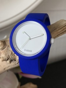 O Clock - Blue Elletrico Strap - O Clock Glow in the Dark