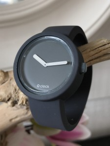O Clock - Dark Grey Grigio Scuro Strap - O Clock Tone on Tone Dark Grey Grigio Scuro