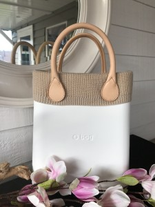 O Chic - O Bag Mini Wool Trims Naturel