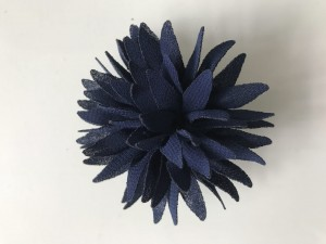 JU'STO-J-FLOWER-Small-Mini-Fiori-Blu-Notte-Navy