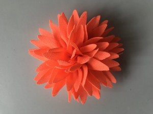 JU'STO-J-FLOWER-Small-Mini-Fiori-Arancio-Fluo-Orange