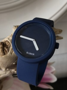 O Clock - Dark Blue Oceano Strap - Tone on Tone Dark Blue Oceano