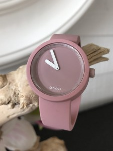 O Clock - Cipria Powder Pink Strap -  O Clock Tone on Tone  Cipria Powder Pink
