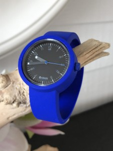 O Clock - Electric Blue Strap - O Clock 60sec Blue/Black