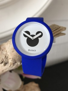 O Clock -  Electric Blue Strap - O Clock Disney Mickey II