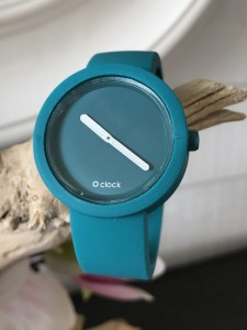 O Clock - Blu Acqua Blue Water Strap - O Clock Tone on Tone Blu Acqua Blue Water