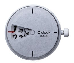O Clock Digital White